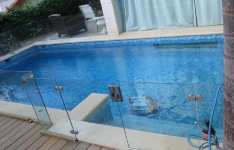 בניית בריכת שחיה ברמת השרון