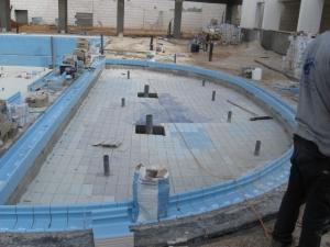 פרויקט בניית בריכה ציבורית באזור המרכז