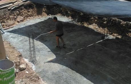 בניית בריכה ציבורית בזכרון יעקב